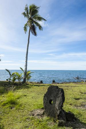 Stone Money on the Island of Yap, Micronesia by Michael Runkel