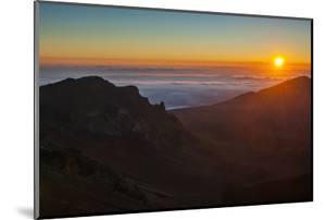Sunrise Above Haleakala National Park, Maui, Hawaii, United States of America, Pacific by Michael Runkel