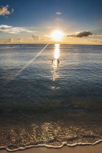 Sunset in Guam, Us Territory, Central Pacific, Pacific by Michael Runkel