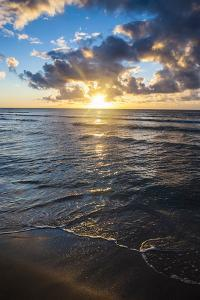 Sunset in Kauai, Hawaii, United States of America, Pacific by Michael Runkel