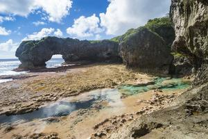 Talava Arches, Niue, South Pacific, Pacific by Michael Runkel