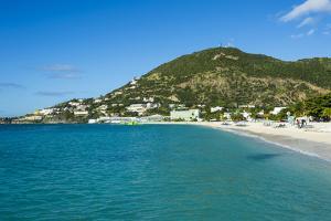 The bay of Philipsburg, Sint Maarten, West Indies, Caribbean, Central America by Michael Runkel