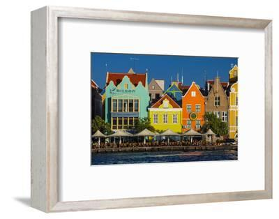 The Dutch Houses at Sint Annabaai in Willemstad, UNESCO Site, Curacao, ABC Is, Netherlands Antilles