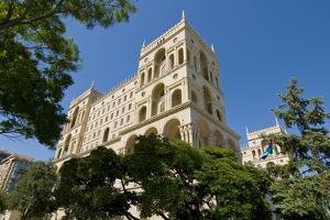 The House of Government, Baku, Azerbaijan by Michael Runkel