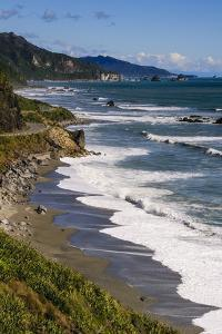 The Untouched West Coast of South Island Between Greymouth and Westport, West Coast, South Island by Michael Runkel