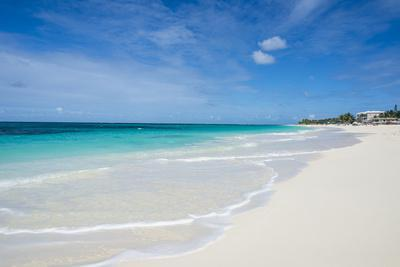 Turquoise waters and whites sand on the world class Shoal Bay East beach, Anguilla, British Oversea