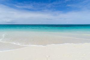 Turquoise waters and whites sand on the world class Shoal Bay East beach, Anguilla, British Oversea by Michael Runkel