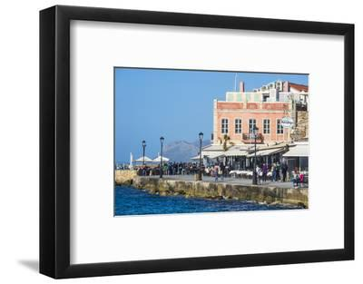 Venetian Harbour of Chania, Crete, Greek Islands, Greece, Europe