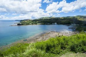 View from Fort Soledad over Utamac Bay in Guam, Us Territory, Central Pacific, Pacific by Michael Runkel