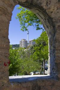 View from Palace of the Shirvanshahs over Baku with Television Tower, Azerbaijan by Michael Runkel