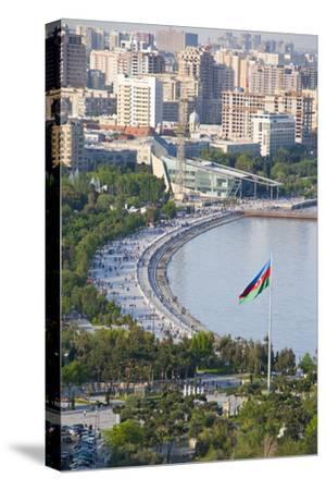 View over Coast of Baku, Baku Bay, Azerbaijan