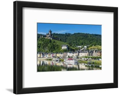 View over Cochem with Cochem Castle in the Background