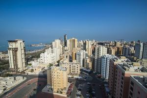 View over Kuwait City, Kuwait, Middle East by Michael Runkel