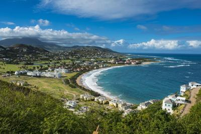 View over North Frigate Bay on St. Kitts by Michael Runkel