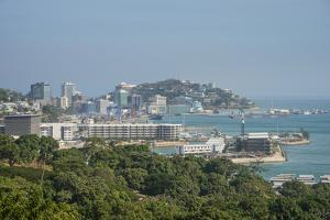 View over Port Moresby, Papua New Guinea, Pacific by Michael Runkel
