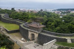 Walls of Shuri Castle, UNESCO World Heritage Site, Naha, Okinawa, Japan, Asia by Michael Runkel
