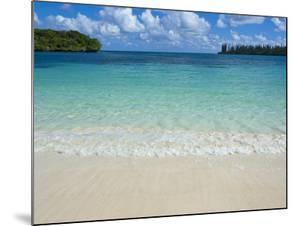 White Sand Beach, Bay de Kanumera, Ile Des Pins, New Caledonia, Melanesia, South Pacific, Pacific by Michael Runkel