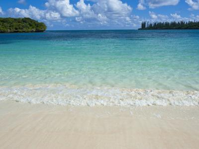 White Sand Beach, Bay de Kanumera, Ile Des Pins, New Caledonia, Melanesia, South Pacific, Pacific by Michael Runkel
