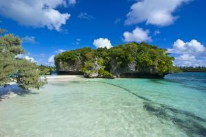 White Sand Beach, Bay De Kanumera, Ile Des Pins, New Caledonia, Melanesia, South Pacific by Michael Runkel