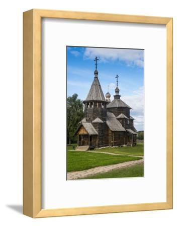 Wooden Church in the Museum of Wooden Architecture, Suzdal, Golden Ring, Russia, Europe