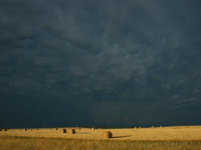 Clearing Storm in Western North Dakota by Michael S^ Lewis