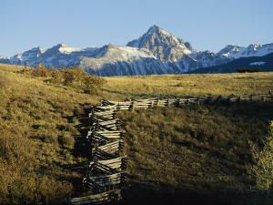 Jagged Peaks of Dallas Divide, San Juan Mountains Near Telluride by Michael S. Lewis