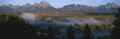 Snake River and the Tetons at Sunrise
