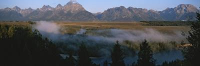 Snake River and the Tetons at Sunrise by Michael S^ Lewis