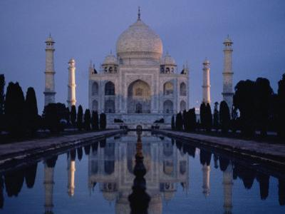 Taj Mahal at Sunrise, Agra, India by Michael S^ Lewis