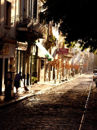 The Old Buenos Aires Neighborhood of San Telmo by Michael S^ Lewis