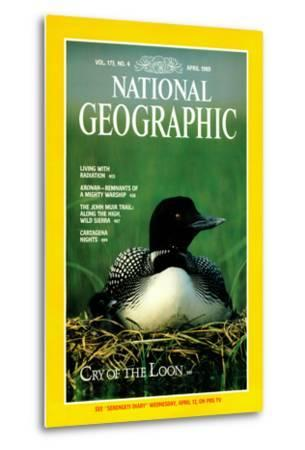 Cover of the April, 1989 National Geographic Magazine