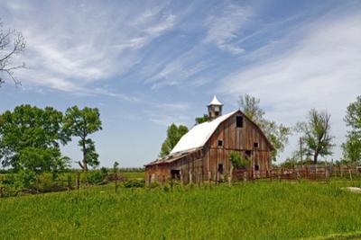 Old Red Barn, Kansas, USA by Michael Scheufler