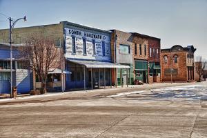 Wilson, Kansas, Kansas, USA by Michael Scheufler
