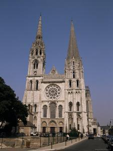 Chartres Cathedral, Unesco World Heritage Site, Chartres, Eure-Et-Loir, Centre, France by Michael Short