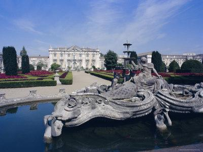 Royal Palace of Queluz, Near Lisbon, Portugal, Europe