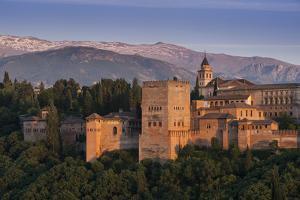 Alhambra, Granada, Province of Granada, Andalucia, Spain by Michael Snell