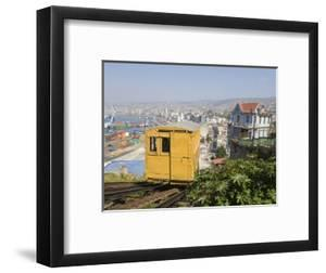 Funicular, Valparaiso, Chile, South America by Michael Snell