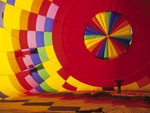 Hot Air Balloon, Albuquerque, New Mexico, USA by Michael Snell