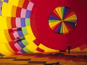 Hot Air Balloon, Albuquerque, New Mexico, USA by Michael Snell