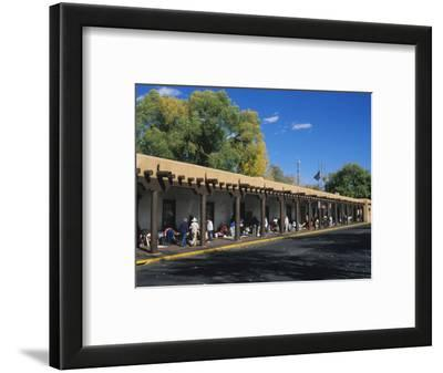 Palace of the Governors, Santa Fe, New Mexico, USA