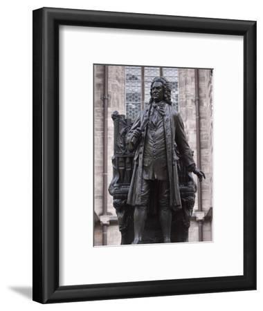 Statue of Bach, Leipzig, Saxony, Germany, Europe