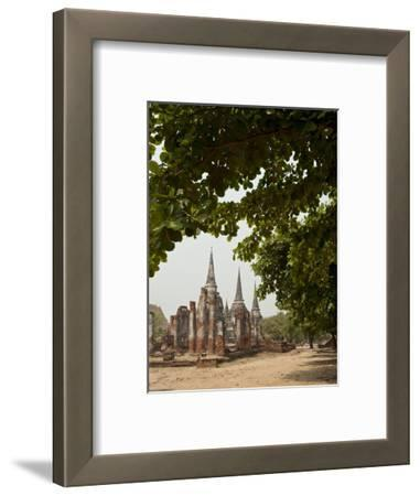 Wat Phra Si Sanphet, Ayutthaya, UNESCO World Heritage Site, Ayutthaya Province, Thailand
