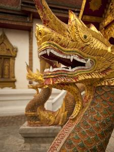 Wat Tung Yu, Chiang Mai, Chiang Mai Province, Thailand, Southeast Asia, Asia by Michael Snell