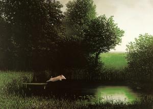 Diving Pig by Michael Sowa