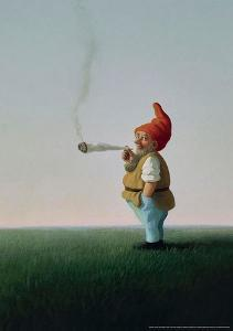 Joint-Zwerg by Michael Sowa