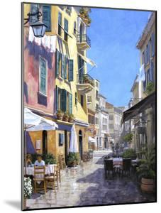 Sunny Street in Portofino by Michael Swanson