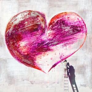 Grafitti Heart by Michael Tarin