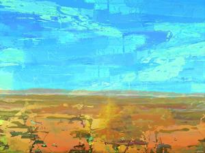 Mosaic Vista I by Michael Tienhaara