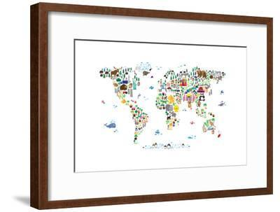 Animal Map of the World