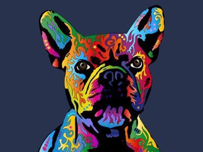 French Bulldog by Michael Tompsett